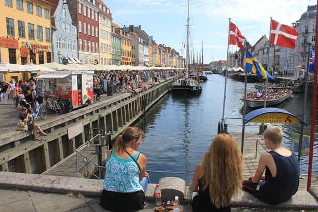 דנמרק עם ילדים